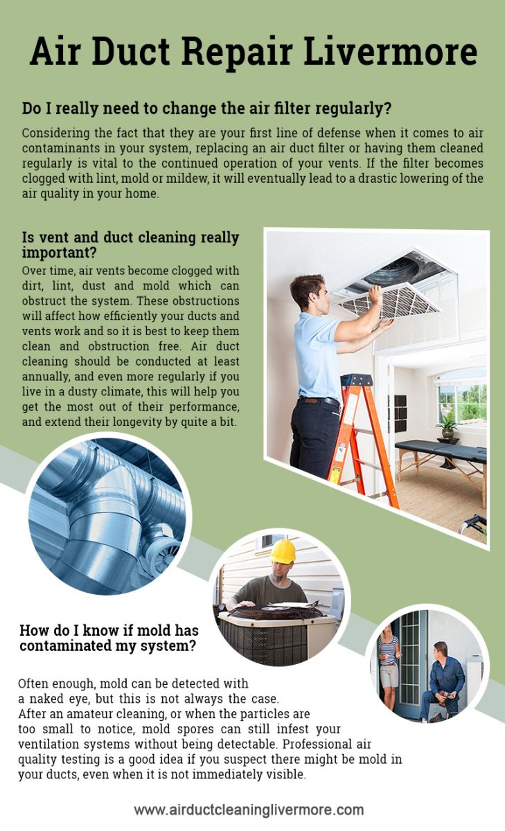 Air Duct Cleaning Livermore Infographic